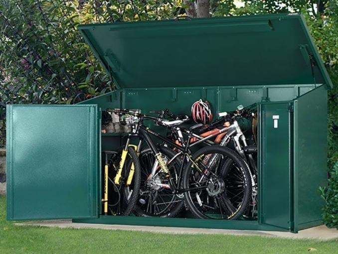 asgard access 4 bike shed