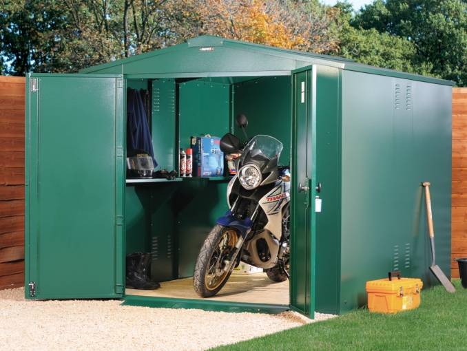 asgard motorcycle shed
