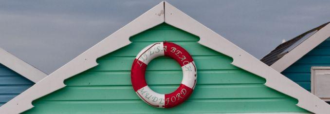 lifes a beach decorative buoy