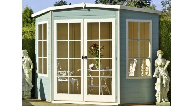 7x7 corner summerhouse
