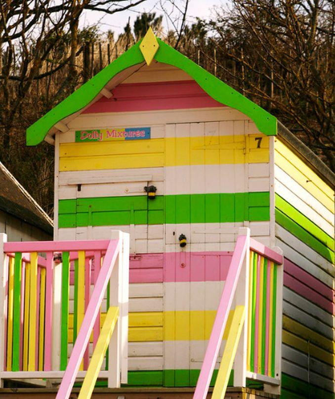 striped dolly mixture hut wells norfolk