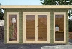 adley insulated garden room