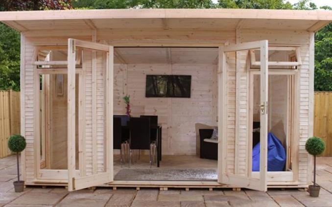 adley insulated garden room untreated