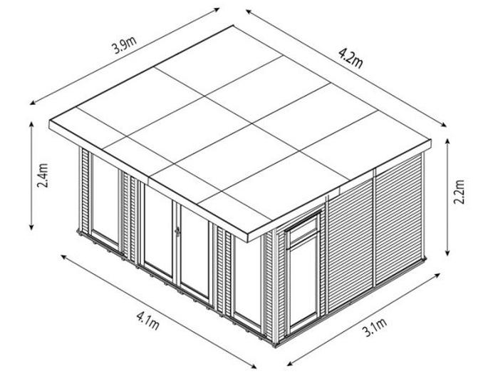 garden room dimensions