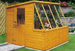 potting shed loxley 6 x 8