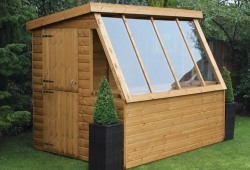 6 x 6 traditional potting shed