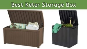 best keter storage box