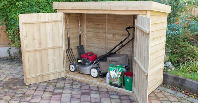 lawnmower storage