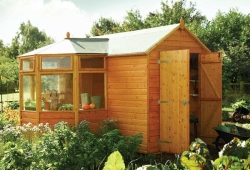 rowlinson double door potting shed 250