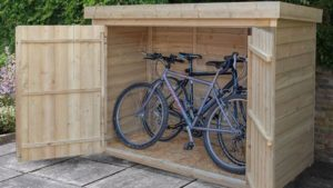 wooden-garden-storage-for-bikes