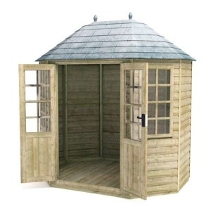 Oren 6 x 6 pressure treated octagonal summer house