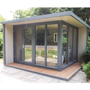 crane hub outdoor insulated garden room