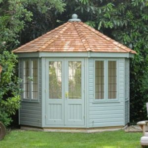 crane wiveton octagonal summerhouse 3 x 3 - featured