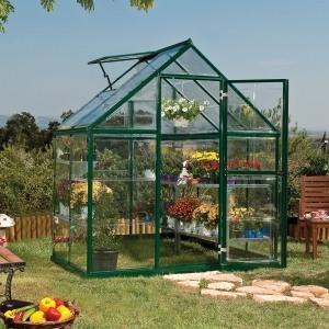 palram harmony polycarbonate greenhouse 6 x 4