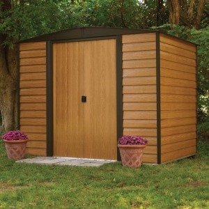 Rowlinson Woodvale Metal Shed featured