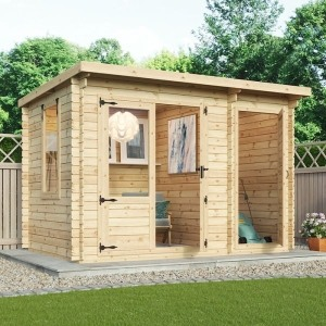adley hereford log cabin