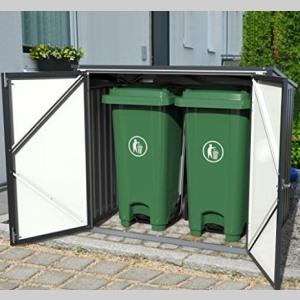 duramax garbage bin store