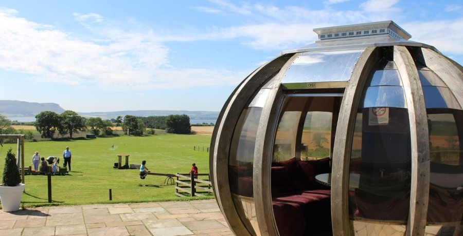 loch leven deluxe rotating pod