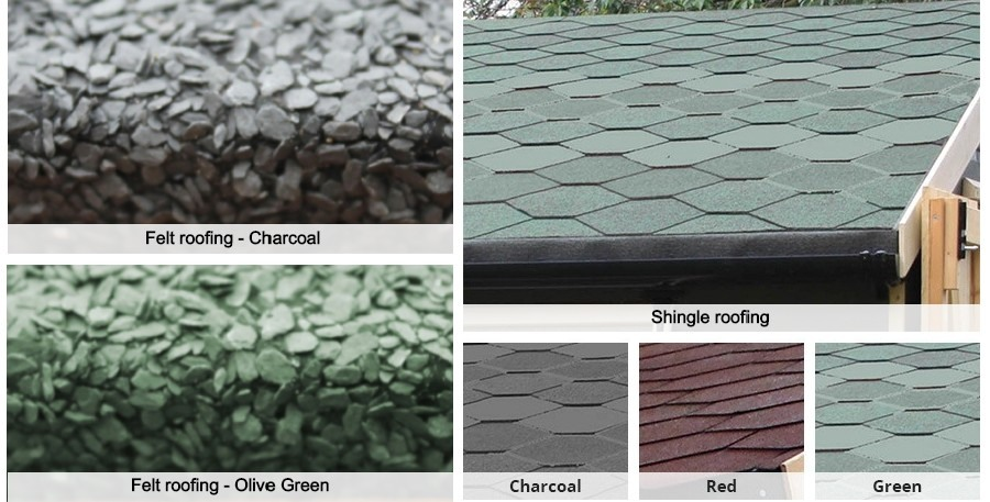 different roof options